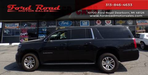 2017 Chevrolet Suburban for sale at Ford Road Motor Sales in Dearborn MI
