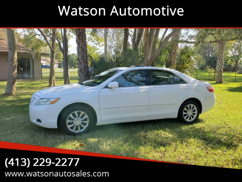 2007 Toyota Camry for sale at Watson Automotive in Sheffield MA