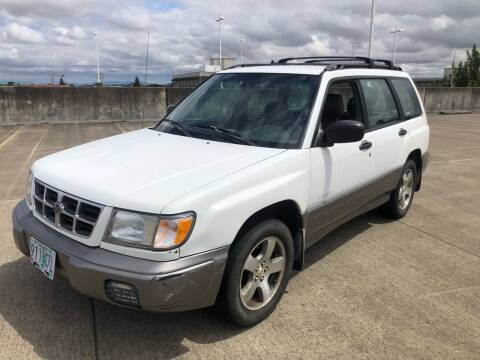 1998 Subaru Forester for sale at Rave Auto Sales in Corvallis OR
