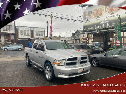 2012 RAM Ram Pickup 1500 for sale at Impressive Auto Sales in Philadelphia PA