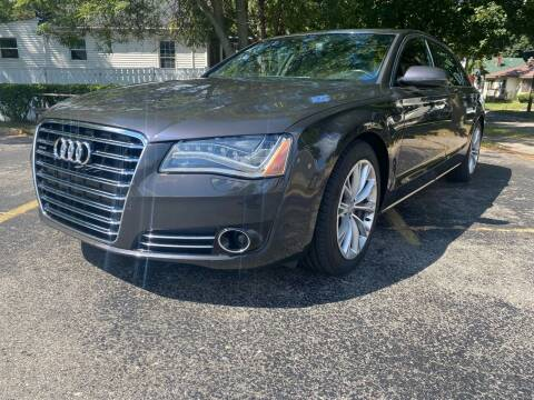 2012 Audi A8 L for sale at Mikhos 1 Auto Sales in Lansing MI