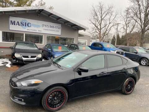 2013 Dodge Dart for sale at Masic Motors, Inc. in Harrisburg PA