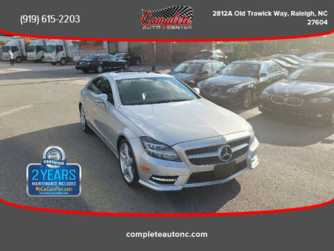 2012 Mercedes-Benz CLS for sale at Complete Auto Center , Inc in Raleigh NC