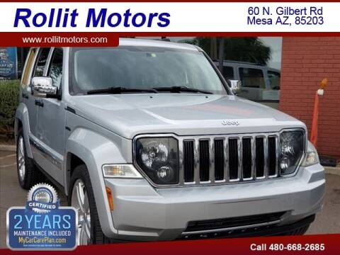2011 Jeep Liberty for sale at Rollit Motors in Mesa AZ