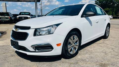 2015 Chevrolet Cruze for sale at Capital Motors in Raleigh NC