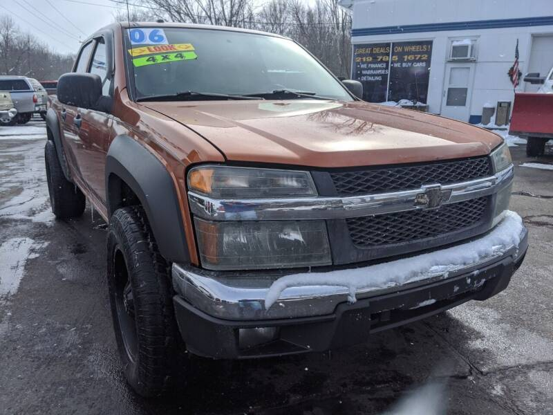 2006 Chevrolet Colorado for sale at GREAT DEALS ON WHEELS in Michigan City IN