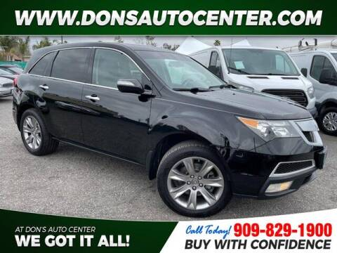 2012 Acura MDX for sale at Dons Auto Center in Fontana CA
