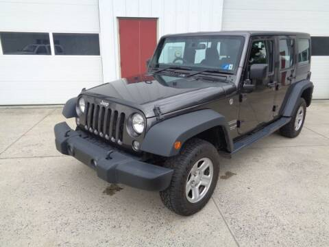 2017 Jeep Wrangler Unlimited for sale at Lewin Yount Auto Sales in Winchester VA