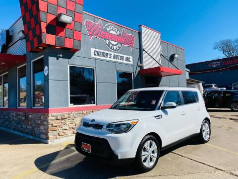 2015 Kia Soul for sale at Chema's Autos & Tires in Tyler TX