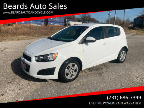 2015 Chevrolet Sonic for sale at Beards Auto Sales in Milan TN