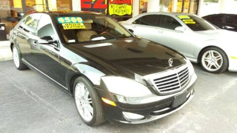2008 Mercedes-Benz S-Class for sale at Tony's Auto Sales in Jacksonville FL