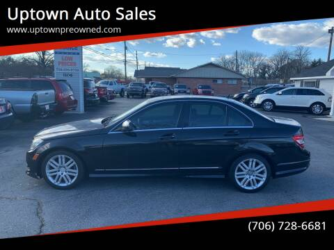 2009 Mercedes-Benz C-Class for sale at Uptown Auto Sales in Rome GA