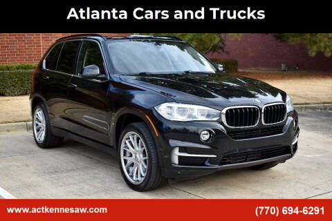 2014 BMW X5 for sale at Atlanta Cars and Trucks in Kennesaw GA