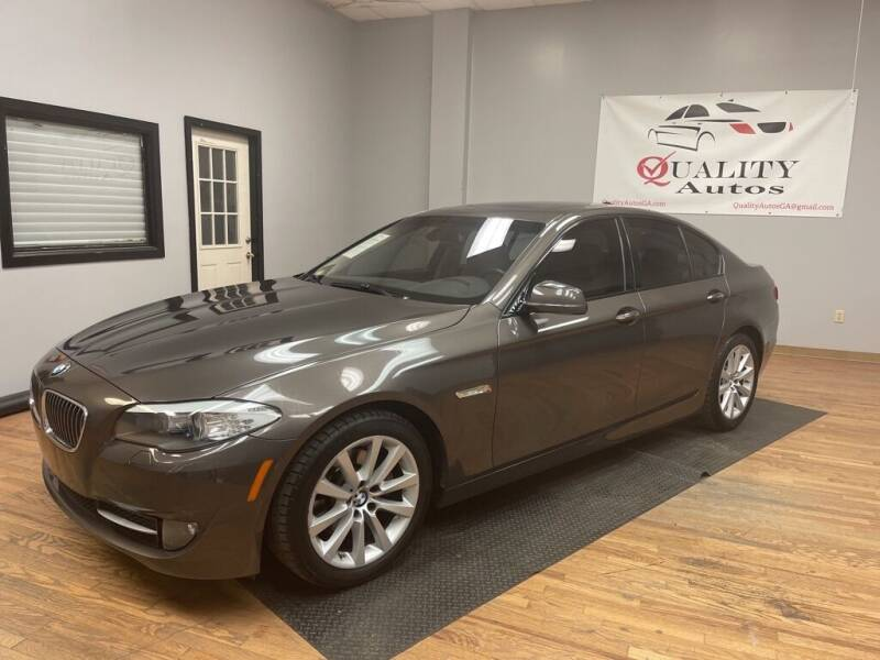 2011 BMW 5 Series for sale at Quality Autos in Marietta GA