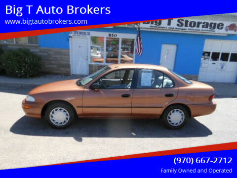 1997 GEO Prizm for sale at Big T Auto Brokers in Loveland CO