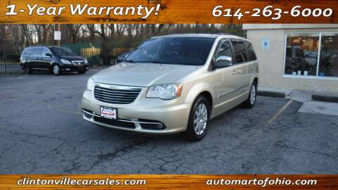 2011 Chrysler Town and Country for sale at Clintonville Car Sales - AutoMart of Ohio in Columbus OH