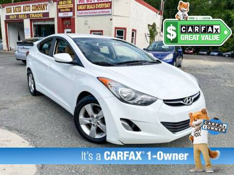 2013 Hyundai Elantra for sale at High Rated Auto Company in Abingdon MD