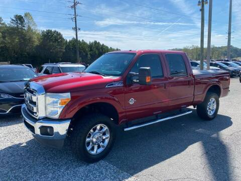 2014 Ford F-350 Super Duty for sale at Billy Ballew Motorsports in Dawsonville GA