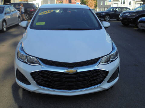 2019 Chevrolet Cruze for sale at Washington Street Auto Sales in Canton MA