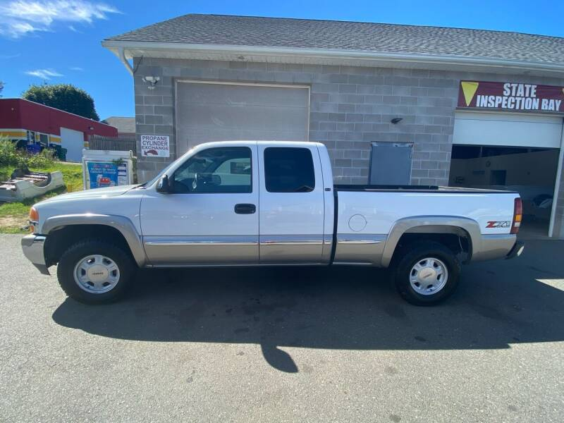 2002 GMC Sierra 1500 for sale at Pafumi Auto Sales in Indian Orchard MA