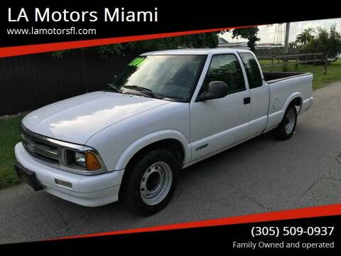 1997 Chevrolet S-10 for sale at LA Motors Miami in Miami FL