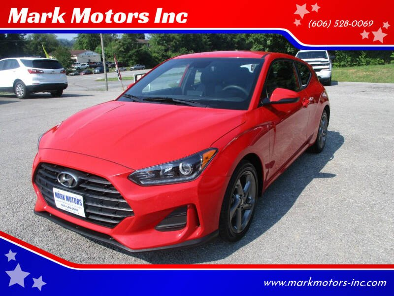 2019 Hyundai Veloster for sale at Mark Motors Inc in Gray KY