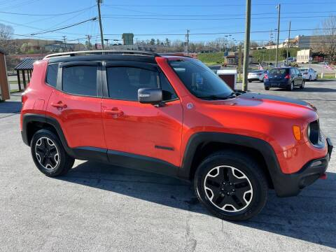 2016 Jeep Renegade for sale at Country Auto Sales Inc. in Bristol VA