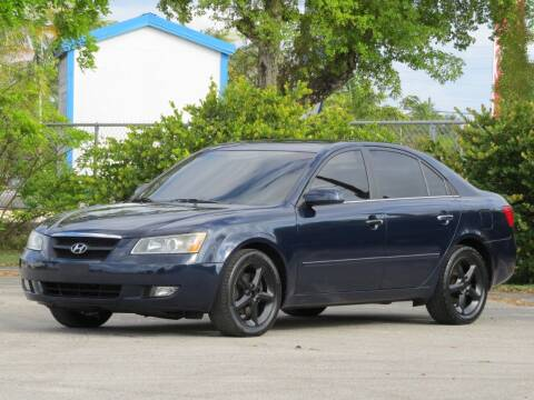 2006 Hyundai Sonata for sale at DK Auto Sales in Hollywood FL
