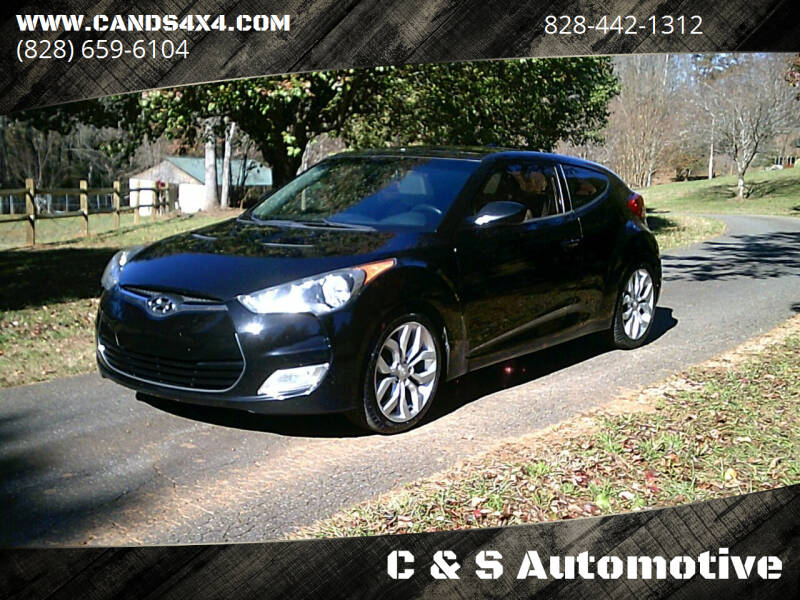 2013 Hyundai Veloster for sale at C & S Automotive in Nebo NC