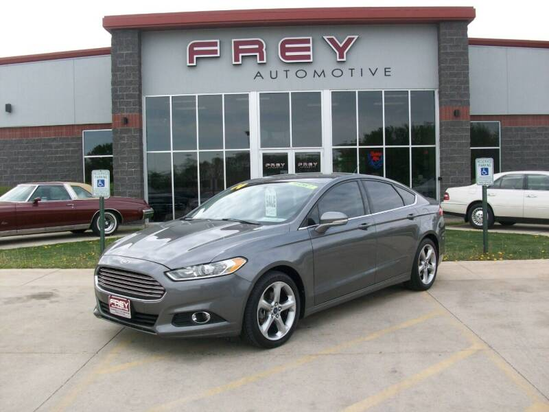 2014 Ford Fusion for sale at Frey Automotive in Muskego WI