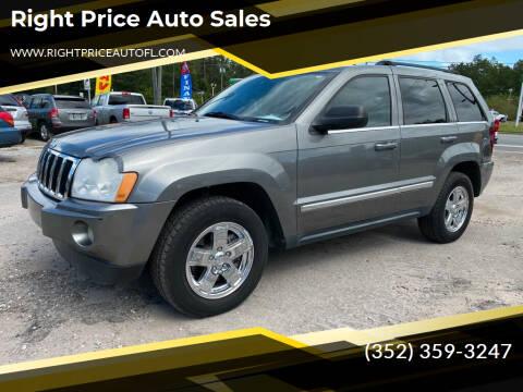 2007 Jeep Grand Cherokee for sale at Right Price Auto Sales in Waldo FL