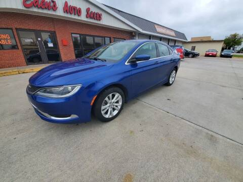2016 Chrysler 200 for sale at Eden's Auto Sales in Valley Center KS