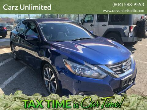 2016 Nissan Altima for sale at Carz Unlimited in Richmond VA