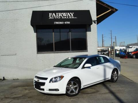 2011 Chevrolet Malibu for sale at FAIRWAY AUTO SALES, INC. in Melrose Park IL
