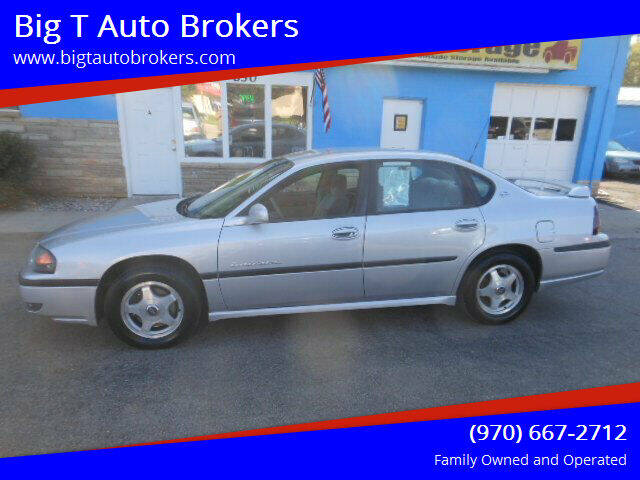 2002 Chevrolet Impala for sale at Big T Auto Brokers in Loveland CO