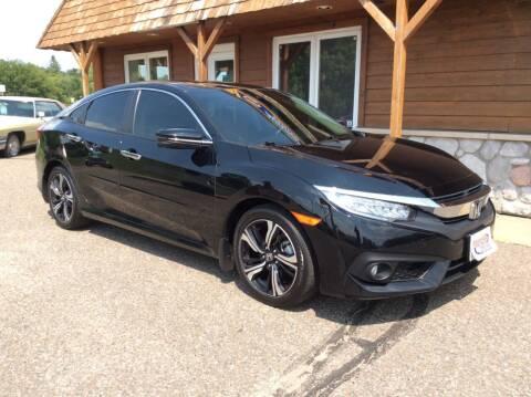2018 Honda Civic for sale at MOTORS N MORE in Brainerd MN
