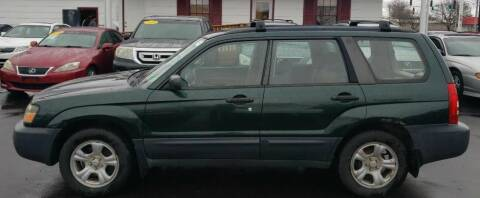 2005 Subaru Forester for sale at Rayyan Auto Mall in Lexington KY