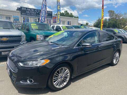 2014 Ford Fusion for sale at Black Diamond Auto Sales Inc. in Rancho Cordova CA