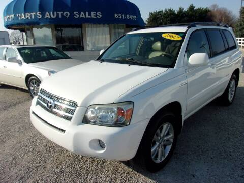 2007 Toyota Highlander Hybrid for sale at Marty Hart's Auto Sales in Sturgis MI