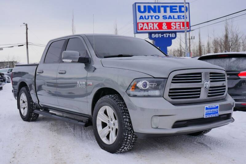 2013 RAM Ram Pickup 1500 for sale at United Auto Sales in Anchorage AK