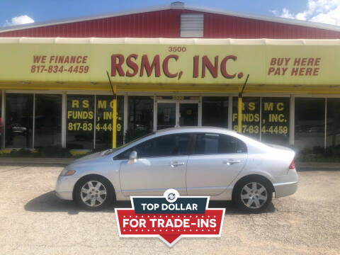 2006 Honda Civic for sale at Ron Self Motor Company in Fort Worth TX