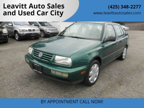 1997 Volkswagen Jetta for sale at Leavitt Auto Sales and Used Car City in Everett WA