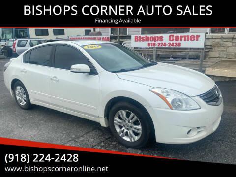 2012 Nissan Altima for sale at BISHOPS CORNER AUTO SALES in Sapulpa OK