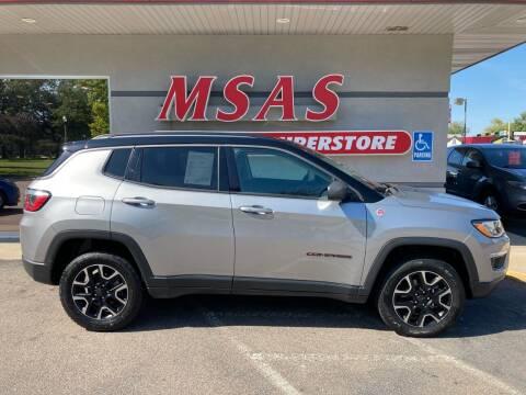 2019 Jeep Compass for sale at MSAS AUTO SALES in Grand Island NE