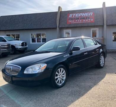 2009 Buick Lucerne for sale at Stephen Motor Sales LLC in Caldwell OH