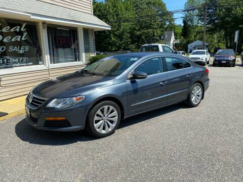 2012 Volkswagen CC for sale at Real Deal Auto Sales in Auburn ME