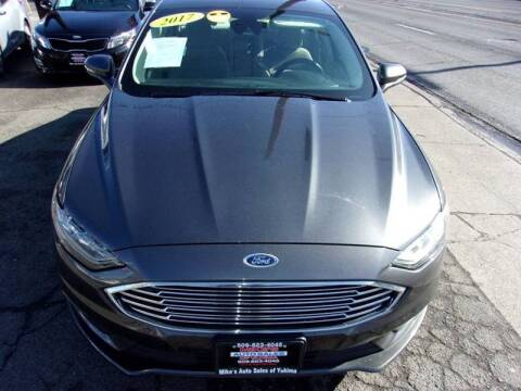 2017 Ford Fusion for sale at Mike's Auto Sales in Yakima WA