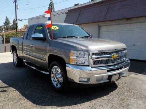 2012 Chevrolet Silverado 1500 for sale at Bell's Auto Sales in Corona CA