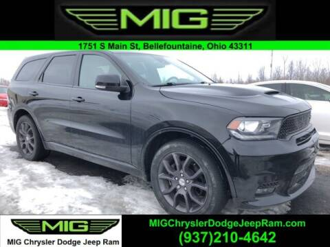 2018 Dodge Durango for sale at MIG Chrysler Dodge Jeep Ram in Bellefontaine OH