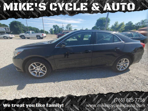 2013 Chevrolet Malibu for sale at MIKE'S CYCLE & AUTO - Mikes Cycle and Auto (Liberty) in Liberty IN